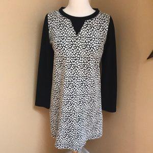 Black & White Apt. 9 Dress